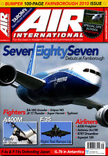 AIR INTERNATIONAL 79/3 SEP 2010 Farnborough,F-35,EA-18G,TAROM,JASDF,CV-22 58SOW