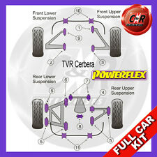 TVR Cerbera Not For Weld Spot On Wishbones Powerflex Complete Bush Kit