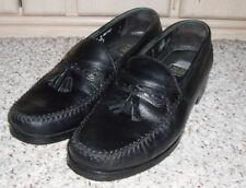 NUNN BUSH Leather Loafer Style Tassel Shoe~Black~9 M