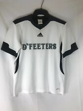 Adidas Tabela Ii D'Feeters Soccer Jersey Athletic Shirt White Youth Medium