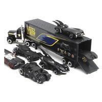 7pcs Batman Batmobile & Truck Car Model Toy Vehicle Alloy Diecast Kids Xmas Gift