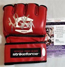 Herschel WALKER SIGNED Glove JSA COA AUTOGRAPH STRIKEFORCE UFC MMA NFL COWBOYS