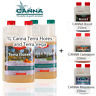 Canna Terra Flores 1L & 1 Liter Terra Vega + 250mL Boost Cannazym and Rhizotonic