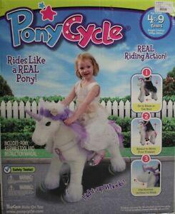 Ponycycle Fairytale Premium - Einhorn auf Rollen - weiß - Kinder-Pony - NEU