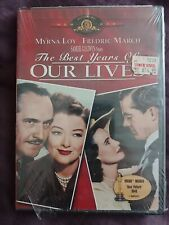New The Best Years of Our Lives * Dvd Authentic Factory Sealed Fredric March