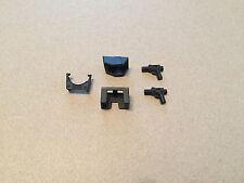 Lego Star Wars Black Armor Leggings Pauldron Guns - 5 Pc Clone Minifig Fox Cody
