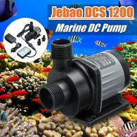 12W Jebao Jecod DC1200 Submersible Water Pump Aquarium Fish Tank W/  K