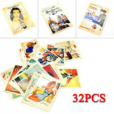 Mixed Vintage Retro Advertising Movie Travel Postcards Post Cards Gift
