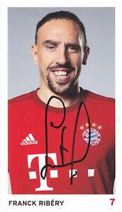 Franck RIBERY - Frankreich, FC Bayern München 2015/16, Original-Autogramm!