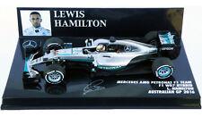Minichamps Mercedes W07 #44 Australian GP 2016 - Lewis Hamilton 1/43 Scale