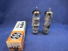Pair of 6Gw8 Ecl86 Tubes - Nos Nib Ge Made in Great Britain and German Made Tube