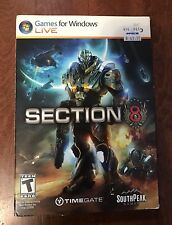 NIB Section 8 PC Game For Windows Live ~Factory Sealed~ New SouthPeak Games