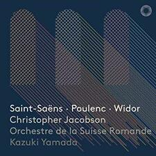 Jacobson/Yamada/Orchestre D...-Christopher Jacobson - Saint-S (US IMPORT) CD NEW