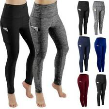 Women Yoga Leggings Pocket Fitness Sports Gym Exercise Running Stretch Pants