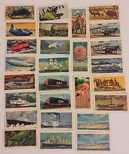 27 Vintage Transportation Through The Ages Brooke Bond Canada Tea Coffee Cards