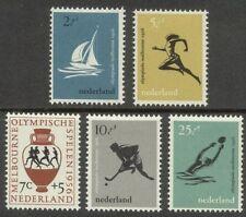 NVPH 676-680 Olympiade 1956 postfris (MNH)