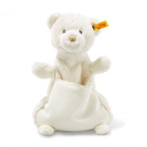 Steiff Soft Cuddly Friends Giggles Teddy bear comforter, 27 cm