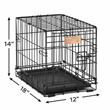 Small Dog Cage Single Door Pet Crate Small Dog Puppy Cage For Pets Cage Supplies