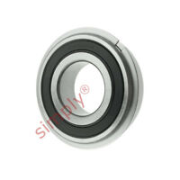 SKF 62052RSRNR Sealed Snap Ring Deep Groove Ball Bearing 25x52x15mm