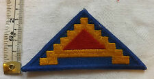 An Original Military  American 7th Armies Army Group USA Cloth Badge (1204)