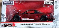 2002 Honda NSX Type-R Japan Spec JDM Tuners Wide Rot Red 1:24 Jada Toys 99068