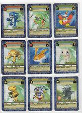 Digimon Digi-Battle Card Game Series 3 Complete Set 54/54 Gold Text NM+