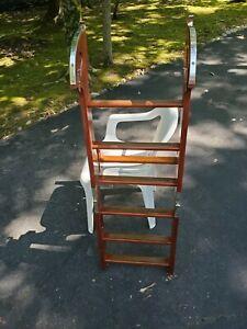 Chris Craft 1958 Wooden Folding Swim Platform Ladder