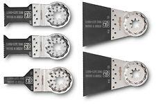 Fein E-Cut Sägeblätter Long-Life Set 5-tlg Starlock für MultiMaster, MultiTalent