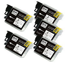 5 BLACK Ink Cartridge for Series LC61 Brother MFC 490CW 495CW 585CW J265w J270w