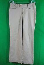 Banana Republic  beige  cotton blend Jackson  fit pants size 6 inseam 33