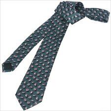 GUCCI Parasol Patterned Beach Umbrella Men's Silk Green Tie 336741 NWT