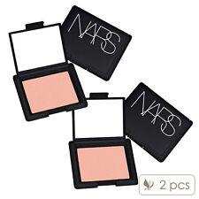 2 PCS NARS Blush Makeup Face Cheek Colour Orgasm Peachy Shimmer 4013 #1492_2