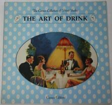1993 THE ART OF DRINK Alcoholic Beverage Ads Posters 1900-1956 30 Prints OOP!