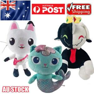 Gabby's Dollhouse Plush Toys Cute Soft Stuffed Dolls Kids Toy Xmas Gifts