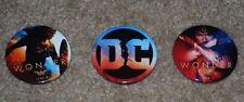 WONDERCON 2017 EXCLUSIVE DC WONDER WOMAN BUTTONS