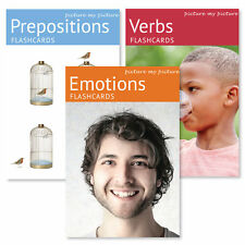 Picture My Picture Feelings and Emotions Flash Cards: 40 Emotion Language