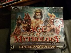Age of Mythology: Collectors Edition (No. 45,115 of 50,000) + Titans Expansion