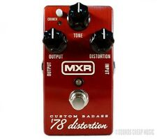 New! MXR M78 Custom Badass '78 Distortion Pedal - Free US 48 2-Day Shipping!