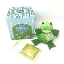 "Scentsy Buddy 8"" Baby Ribbert Frog Tadpole Plush Nib with White Tea Cactus Pak"