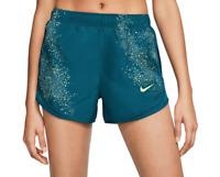 Nike Running Shorts Womens XS or Medium Turquoise Reflective Dry Flash 3 Inch