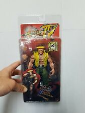 """NECA SDCC 2009 STREET FIGHTER IV 4 GUILE CHARLIE COSTUME 7"""" Action Figure RARE"""