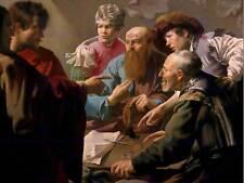 Hendrick ter Brugghen la llamada de San Mateo Antiguo Arte Pintura Impresión 1255OM