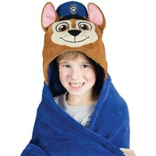 Comfy Critters Hooded Blanket - Paw Patrol Chase
