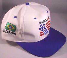 Vintage FIFA 1994 USA World Cup Hat Snapback Cap Brazil Soccer Footbal Futbol