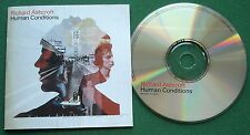 Richard Ashcroft Human Conditions inc Man on A Mission & Paradise + CD