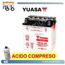 BATTERIA YUASA CON ACIDO PER PIAGGIO BEVERLY 250 IE E3 2006 2007 SCOOTER