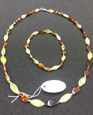Baltic Amber Necklace Natural genuine Handmade beaded beads