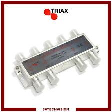 Répartiteur ULB Terrestre et Satellite (5 à 2400 MHz) 8 Voies Triax SCS-8