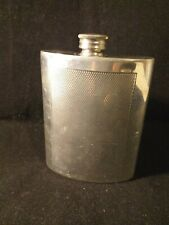 Sheffield Pewter Whiskey hip flask