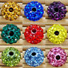 20Pcs Fashion Czech Crystal Rhinestones Pave Clay Round Disco Ball Spacer Bead